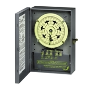Intermatic T7402B Mechanical Timer, 7-Day, 4PST, NEMA 1, 40A, 208-277V