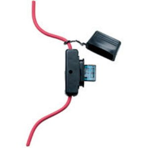 Eaton/Bussmann Series HHX In-Line Fuse Holder for MAXI Blade-Type Fuse with Cover, 20-60A