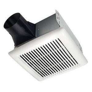 Broan AE80B Ceiling Fan, Single Speed, Energy Efficient, 80 CFM