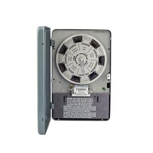 NSI Tork W120 Mechanical Timer, 7 Day, SPDT, Nema 1, 40A, 120V