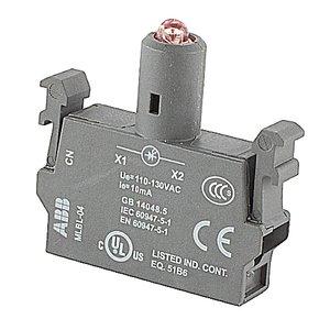 ABB MLBL-04R LED block - 110-130 V AC, integrated LED - Red