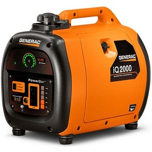 Generac 6866 Generator, Residential Inverter, iQ Series, 2kW, 13.3A, 120VAC
