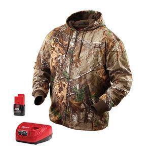 Milwaukee 2383-L M12 Camouflage Heated Hoodie Kit L