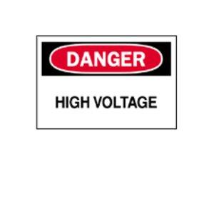 Brady 89173 Electrical Hazard Sign