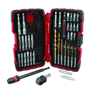 Milwaukee 48-32-1500 38-Piece Quik-Lok Drill and Drive Kit