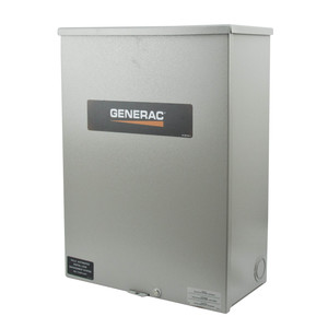 Generac RTSC200A3 Automatic Smart Transfer Switch, 200A 120/240VAC, 1PH, NEMA 3R