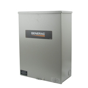Generac RTSC100A3 Automatic Smart Transfer Switch, 100A 120/240VAC, 1PH, NEMA 3R