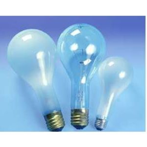 SYLVANIA 300M/IF-120V Incandescent Bulb, PS30, 300W, 120V, Frosted
