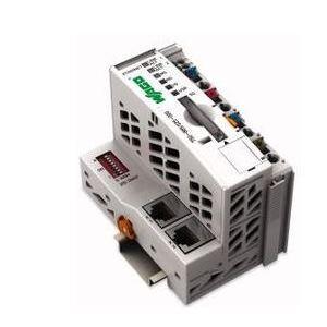 Wago 51267387 Ethernet Controller, 3rd Generation, SD Card Slot, Media Redundancy