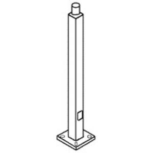 RAB PS4-11-10WT Lighting Pole, 10', Bronze