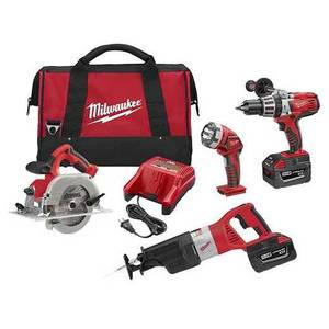 Milwaukee 0928-29 28V Cordless Tool Kit
