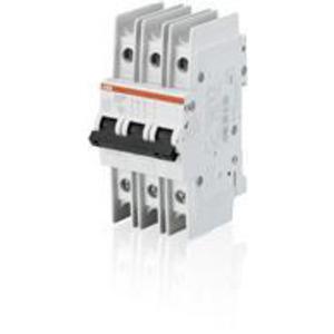 ABB SU203M-K20 Breaker, Miniature, 20A, 3P, Trip K, DIN Rail Mount, 480Y/277VAC