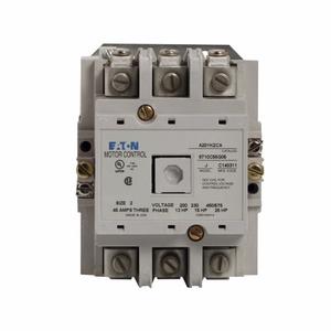 Eaton A201K2CA Contactor, Non-Reversing, NEMA Size 2, 45A, 600VAC, 120VAC Coil