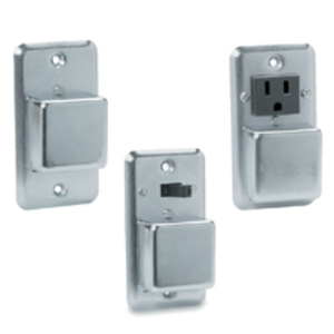Eaton/Bussmann Series SRU Plug Fuse, Cover Unit, Single Gang, 15A, 125VAC