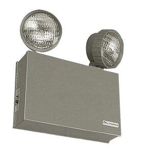 Lithonia Lighting ELT16 Emergency Light, Industrial Grade,  2 Head, 6V/16W
