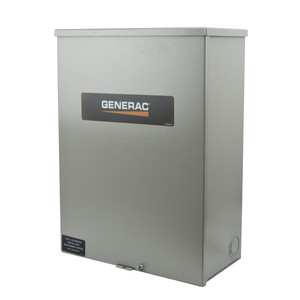 Generac RTSW100A3 Automatic Smart Transfer Switch, 100A 120/240VAC, 1PH, NEMA 3R