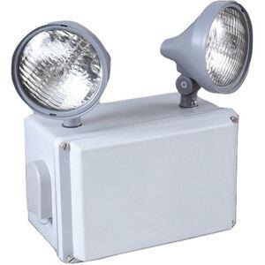 Sure-Lites UMB1 Emergency Light, Wet Location, 2 Head