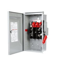 Siemens HF222NR Safety Switch, Fused, Type 3R, 2P, 60A, 240VAC, HD
