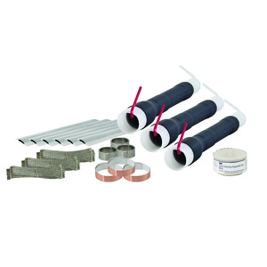 3M 5635K Cold Shrink Termination Kit-Skirted, 3 Terminations/Kit
