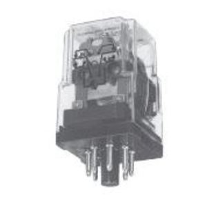 Tyco Electronics KRPA-14DN-24 Relay, Ice Cube, 10A, 11-Pin, 3PDT, 24VDC Coil, Indicator Lamp
