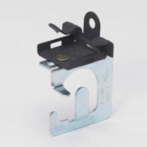 "Cooper B-Line BRC51-U912 MC/AC Cable to Beam Fastener, Flange: 9/16 - 3/4"", Steel"