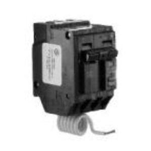 GE THQL2120GFT Breaker, 20A, 2P, 120/240VAC, 10kAIC, GFCI Self Test, Plug-On