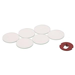 Allen-Bradley 800T-N28 Break Glass-Push Button Units, 6 Disks, 1 Button Tack, 30 mm