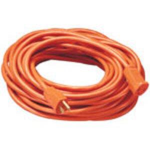 Coleman Cable 0625 CLM 0625 14/3 25FT SJTW ORANGE EXT