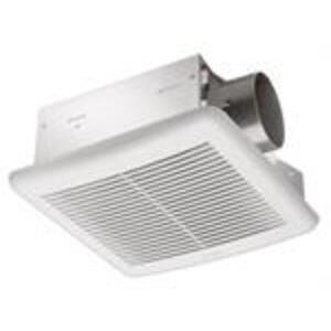 SLM50 50 CFM Single Speed Exhaust Fan, 6.4W, 1.0 Sone