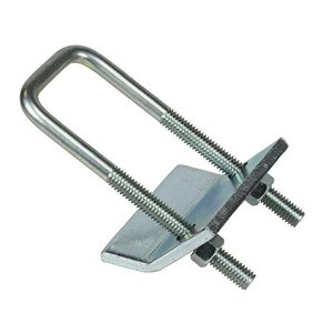 "Dottie SUB158 U-Bolt Beam Clamp for 1-5/8"" Strut, Steel"