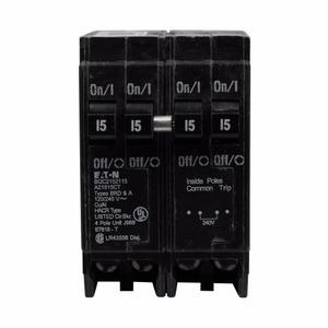 BQC250220 Quad Breaker, Type BQC, 2P 50A Outer, 2P 20A Center, 120/240V