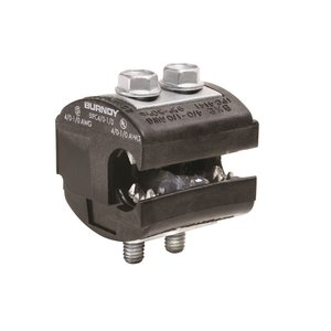 Burndy BIPC4/01/0 Insulation Piercing Connector, 1/0 - 4/0 AWG (Run & Tap), 600V