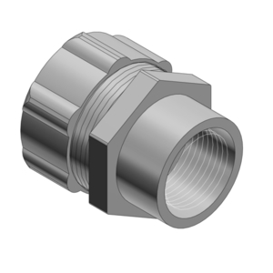 "Thomas & Betts 5274 Combination Coupling, Liquidtight to Rigid, 1"", Steel"