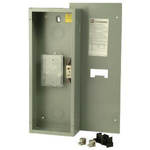 Eaton ECC225F Breaker, Enclosure, 225A, 240VAC, NEMA 1 Flush, for Type CC Breaker
