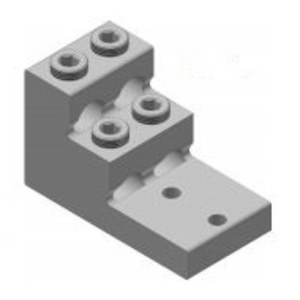 Connector Manufacturing Company PV4-750-1 Panelboard Solderless Lug, 300 MCM, Aluminum Alloy
