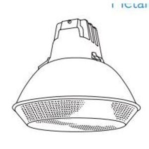 Day-Brite LBN400PMT-PSC Low Bay Fixture