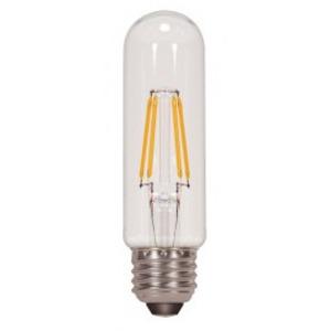 Satco S9580 SATCO S9580 - 4.5 watt T10 LED; Clear; Medium base; 2700K; 430 lumens; 120 volts