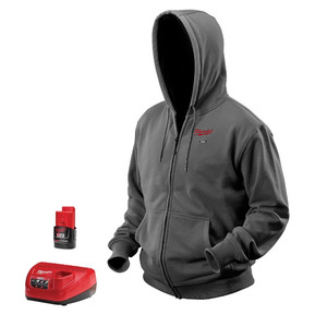 Milwaukee 2369-L M12 Gray Heated Hoodie Kit L