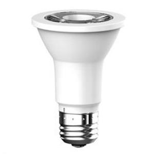 SYLVANIA LED6PAR20830FL4510YVRP2 LED Lamp, PAR20, 6W, 120V, FL45