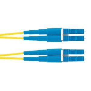 Panduit F92ERLNLNSNM004 Fiber Optic Patch Cord, LC Duplex to LC Duplex, 4 Meters