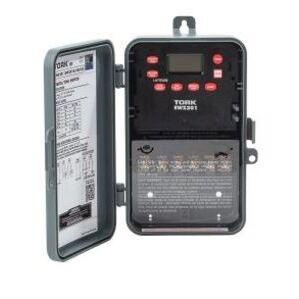 NSI Tork EWZ201C Time Switch, 7 Day, Astronomic, NEMA 3R, 30 Amp, 120-277 VAC