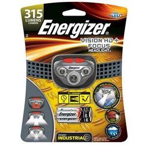 Energizer HDDIN32E LED Headlamp, Plastic, 315 Lumens, Gray