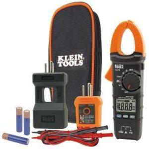 Klein CL110KIT 400A, 600V AC/DC Clamp Meter with Temp