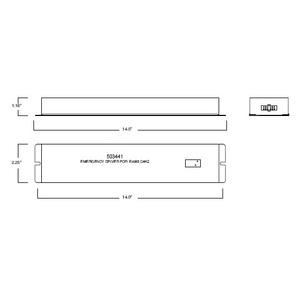 Philips Lighting EMERGENCY-LED-DRIVER-PLE Emergency LED Driver