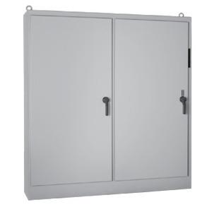 "Hoffman A84XM7824FTCLP Disconnect Enclosure, NEMA 12, Free Standing, 84 x 78 x 24"""