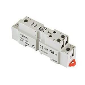 SE Relays 70-781D5R-1A Mounting Socket, 5 Blade, Screw Terminals, DIN Rail Mount