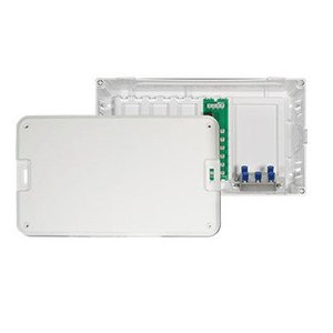 ON-Q EN0802 Enclosure, Cover, 4 x 6 Phone, 4-Way Splitter