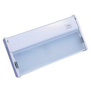 """National Specialty Lighting XTL-1-HW/WH Undercabinet Light, Xenon, 1-Light, 9"""", 18W, 12V, White"""
