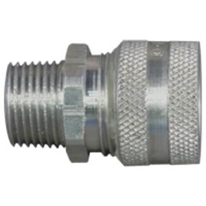 """Appleton CG-225250 Liquidtight Strain Relief Cord Connector, 2-1/2"""", Aluminum"""