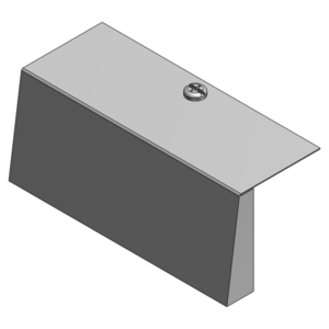 Steel City 664-S-BP BLANK FACE PLATE